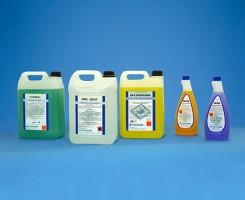 Linea Detergenti e Sanificanti